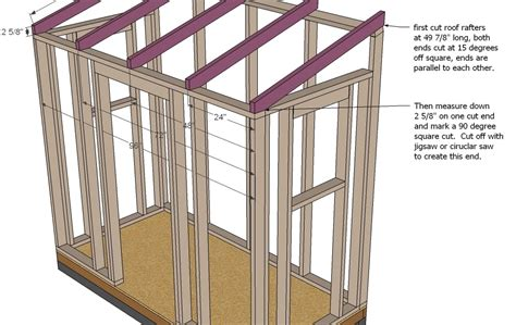 Pent Roof Shed Plans Free