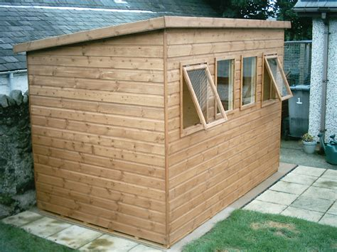 Pent Shed Ideas