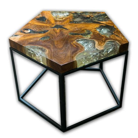 Pentagon Side Table