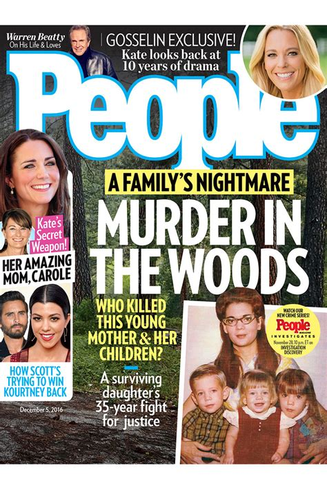 People Magazine Murder In The Woods