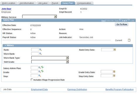 Peoplesoft-Salary-Plan-Table