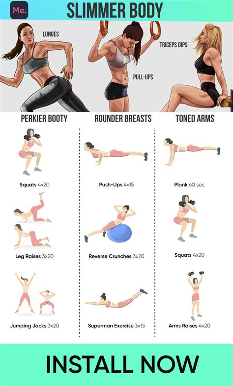 [click]perfect Workout To Get Slimmer Body - Fitness.