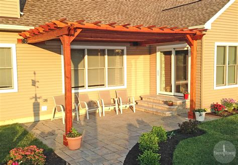 Pergola Attached To House Diy