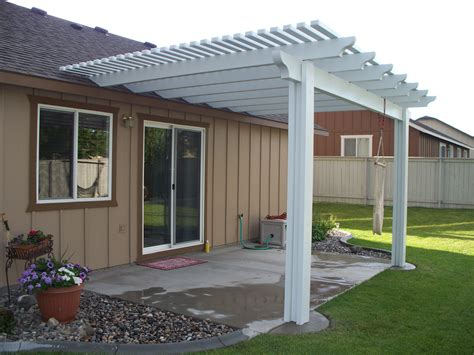 Pergola Attached To Roof Plans