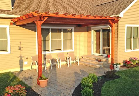 Pergola Ideas Attached To House