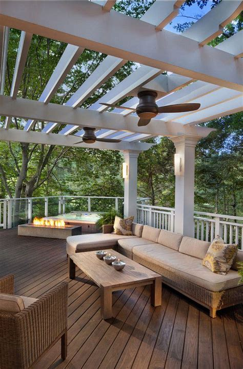 Pergola Plans With Ceiling Fan