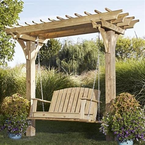 Pergola Swing Plans Unlimited