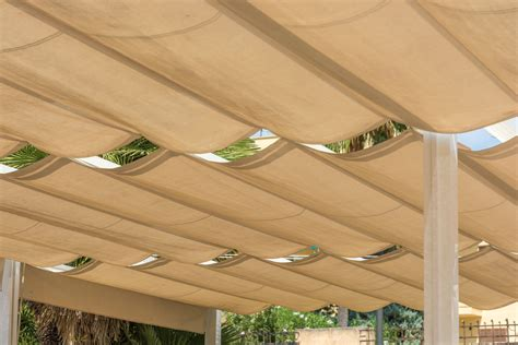 Pergola With Retractable Shade Canopy Diy
