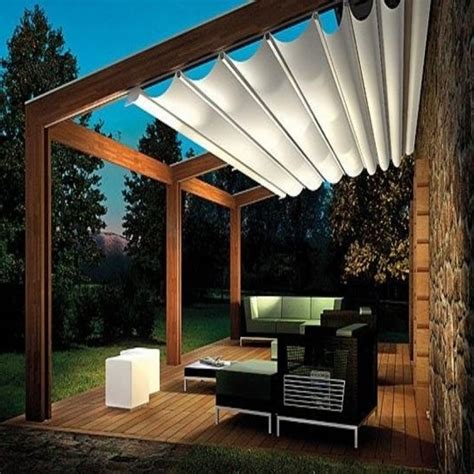 Pergola With Roof Diy