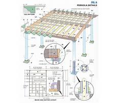 Best Pergola plans pdf
