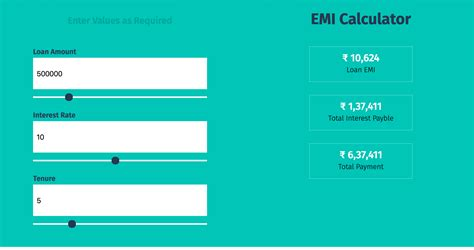 Personal Loan Rates Calculator