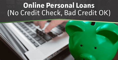 Personal Loans No Credit Check Online