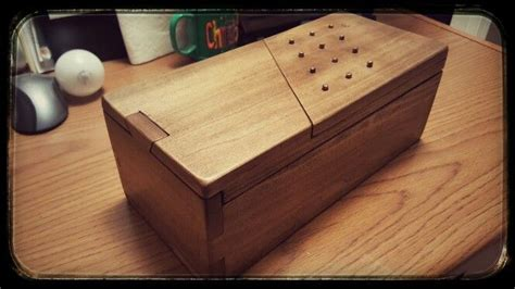 Personal Lock Box Wood Diy Projects