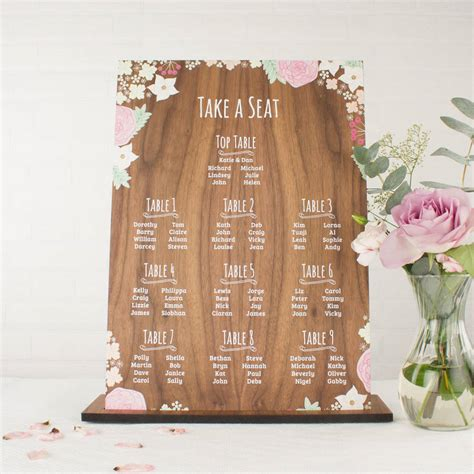 Personalised-Photo-Table-Plan