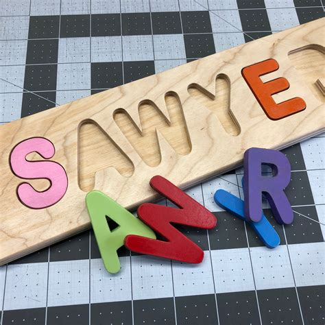 Personalized Name Wood Puzzles