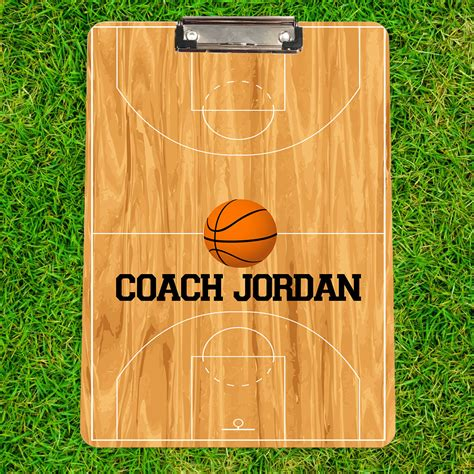 Personalized-Basketball-Clipboard