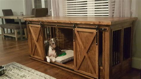 Pet Crate Furniture Plans