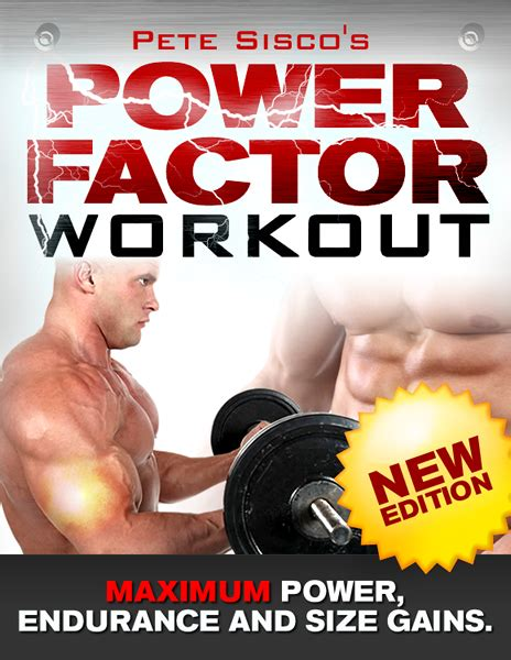 [pdf] Pete Sisco S Power Factor Workout.