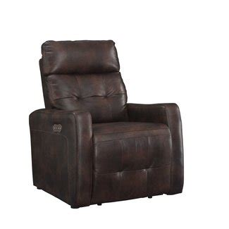Petersburg Leather Power Recline