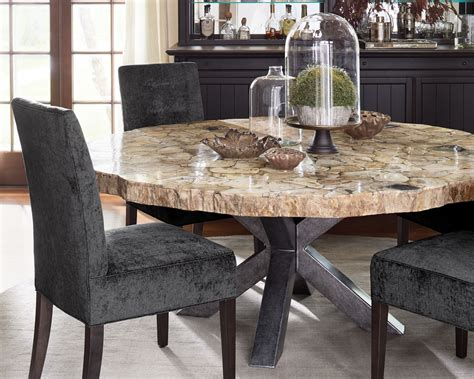 Petrified Wood Dining Room Table