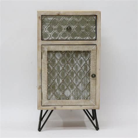Phan Metal One Door Cabinet Wayfair