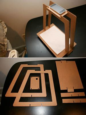 Phone Scanner Stand Diy