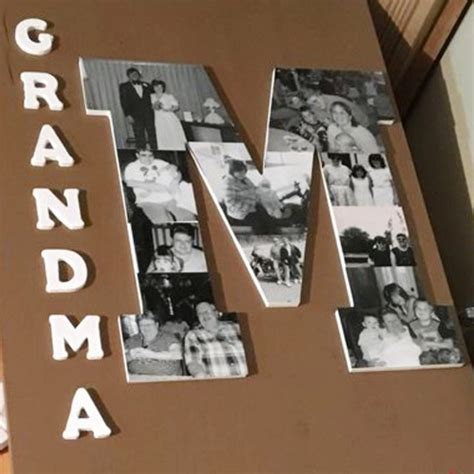 Photo Collage On Wood Diy Ideas