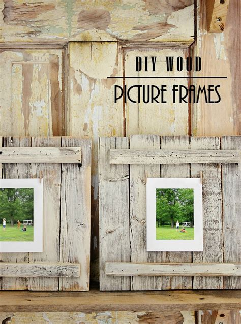 Photo Frame Wood Diy Projects