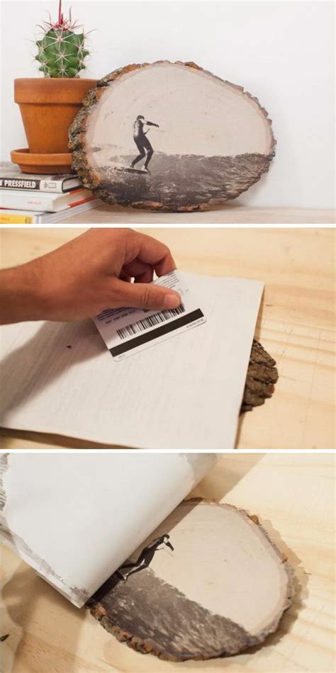 Photo Transfer On Wood Diy Projects