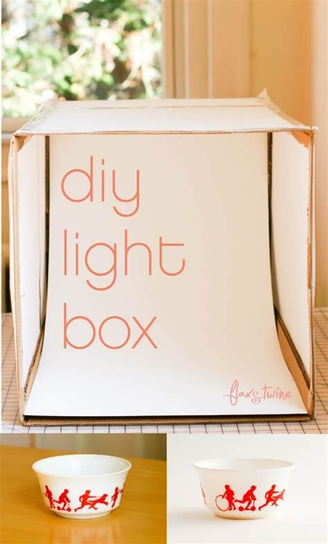 Photoshoot Box Diy Crafts