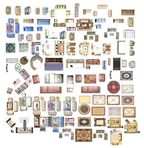 Photoshop-Floor-Plan-Furniture-Shapes