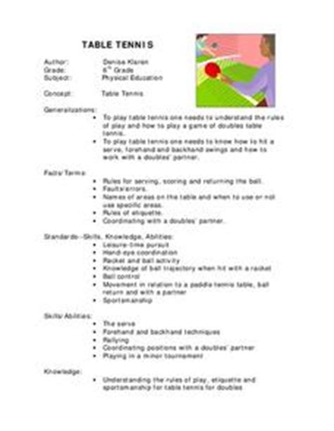 Physical-Education-Table-Tennis-Lesson-Plans