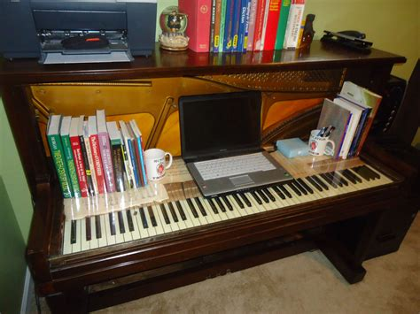 Piano Desk Diy