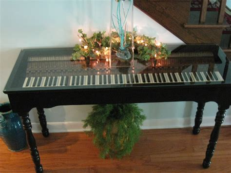 Piano Into Table Diy
