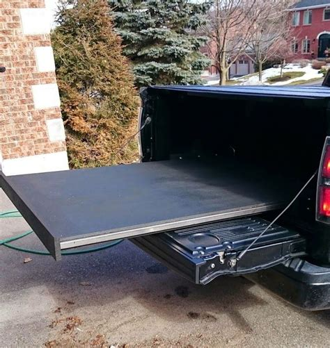 Pick Up Truck Bed Slide Diy