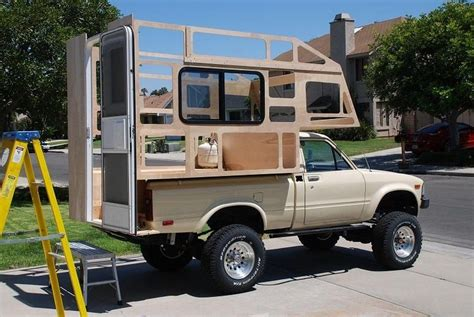Pick-Up-Bed-Camper-Plans