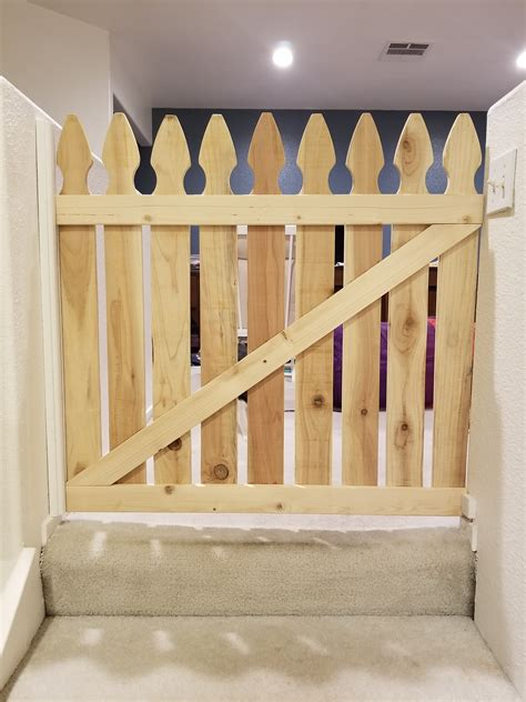 Picket Fence Baby Gate Diy