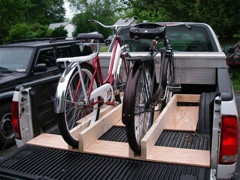 Pickup Bed Bike Rack Diy Trailer