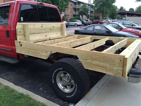 Pickup-Wood-Flatbed-Plans