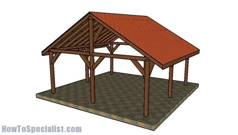 Picnic Shelter Plans 20 X 40