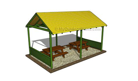 Picnic Shelter Plans Free Download