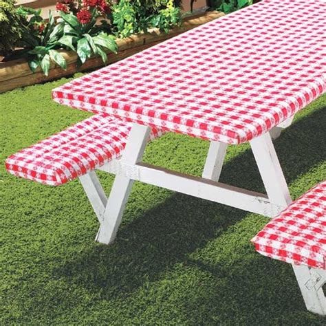 Picnic Table Covers DIY