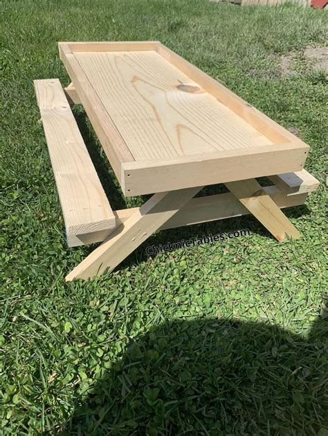 Picnic Table Drawings Plans Us Military