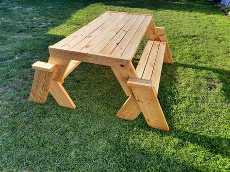 Picnic Table Plans Bench Seat
