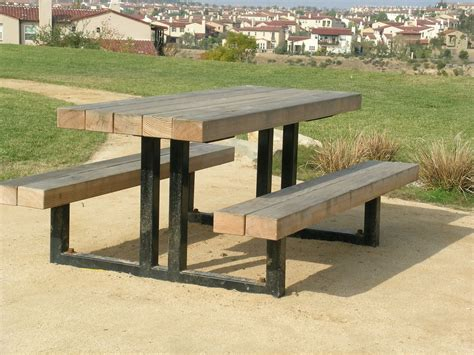 Picnic Table Welded Plans