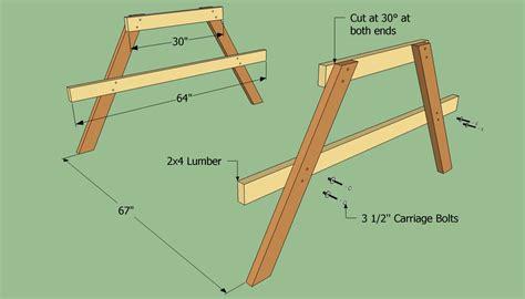 Picnic-Table-Legs-Plans