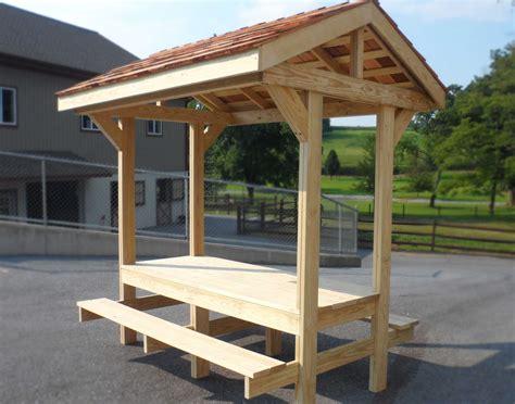 Picnic-Table-Pavilion-Plans