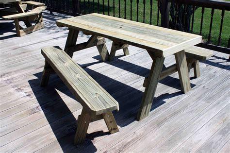 Picnic-Table-Plans-Detached-Benches-Pdf
