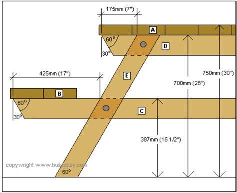 Picnic-Table-Plans-Metric