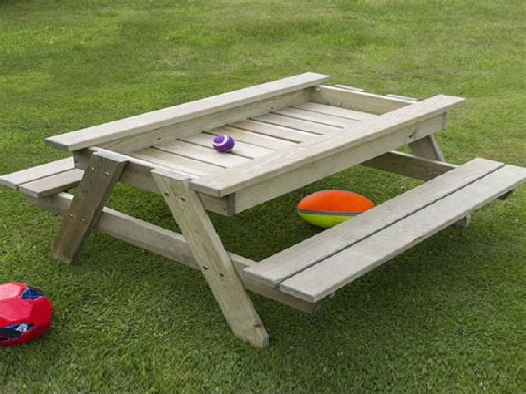 Picnic-Table-Sandbox-Diy